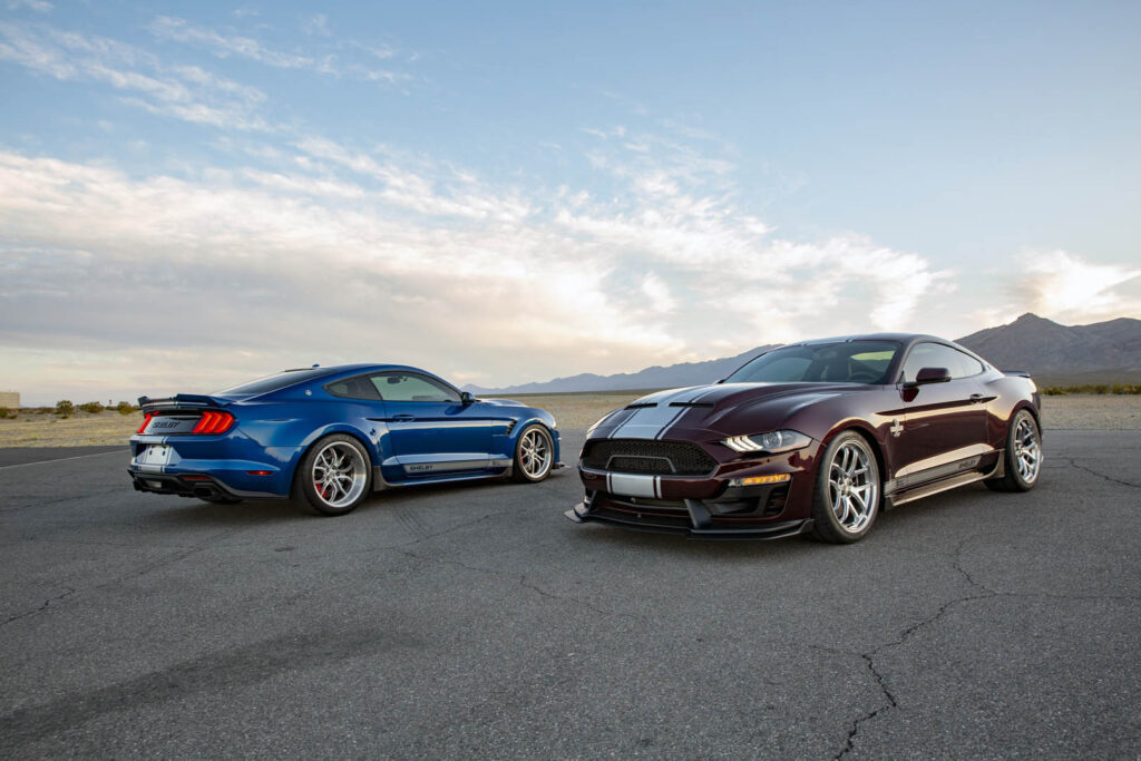 Due Shelby Super Snake Mustang