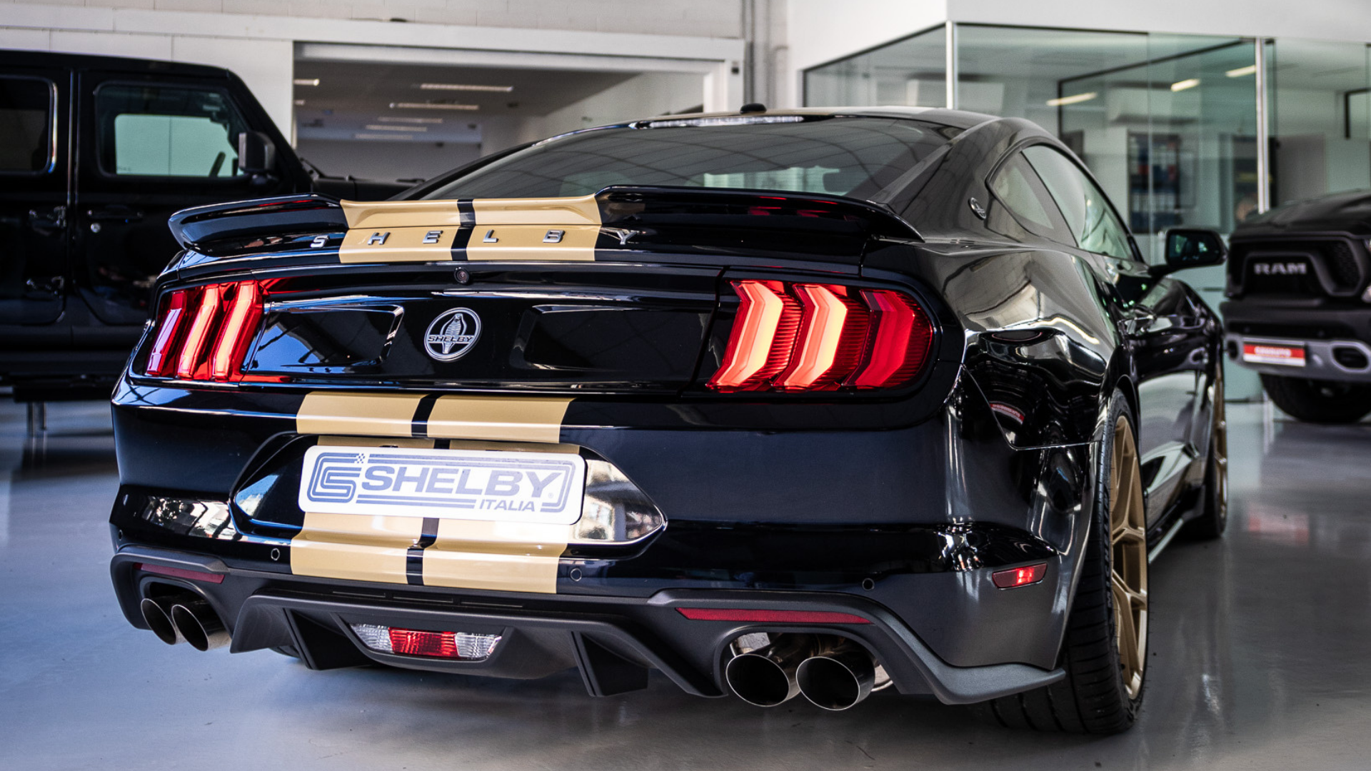 Laterale Shelby GT-H