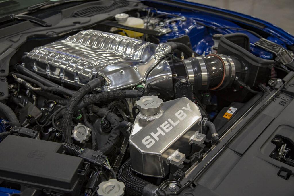 Motore Shelby Super Snake Mustang