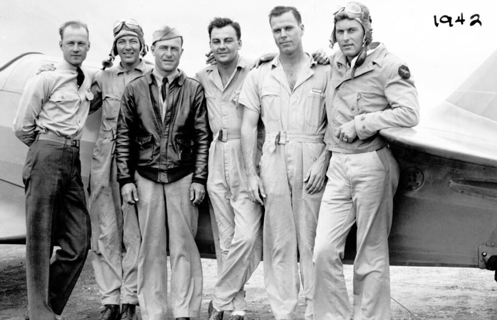 Carroll Shelby nell'Air Force