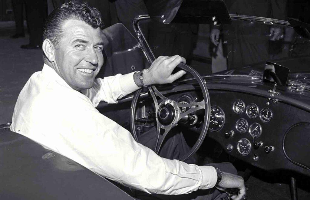 Carroll Shelby pilota leggendario