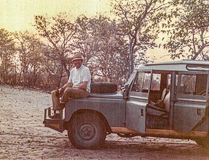 Carroll Shelby in Africa