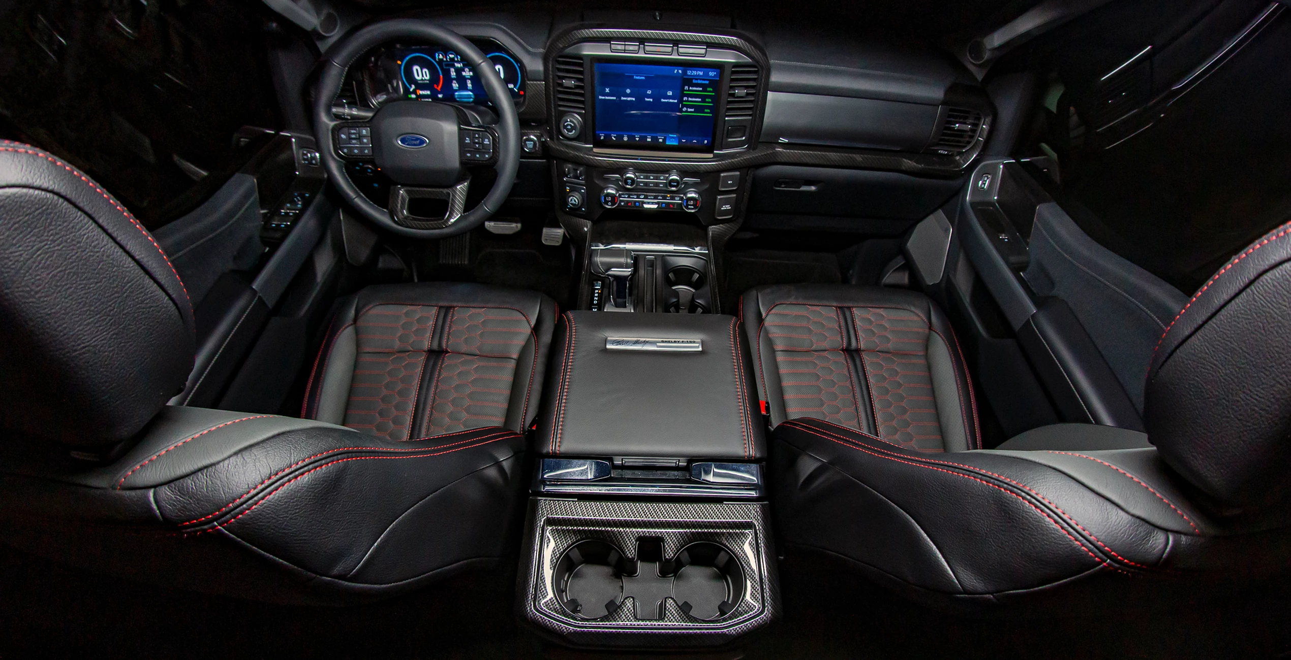 Shelby F150 2021 interni