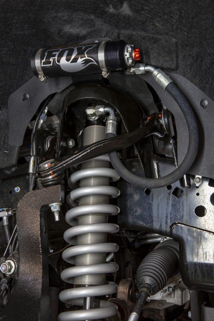 Shelby F150 2021 sospensioni fox